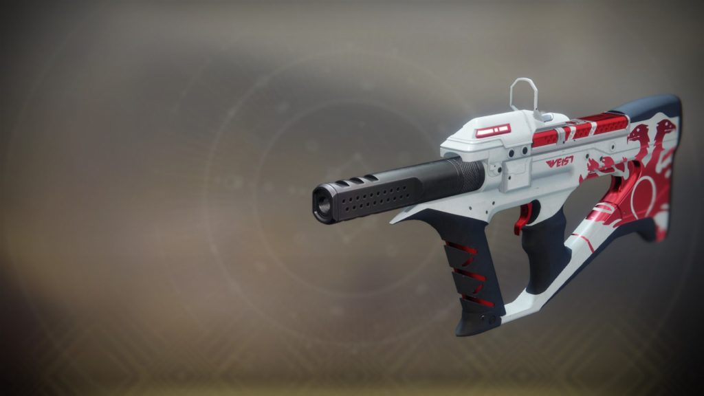 destiny 2 the recluse submachine gun